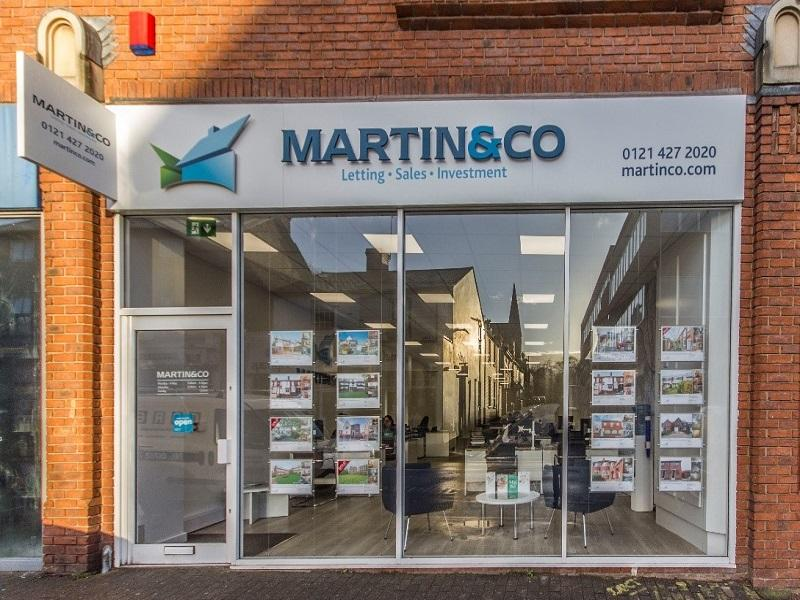 Martin & Co Harborne come runner up for national award