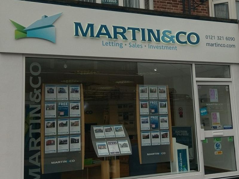 Martin & Co Sutton Coldfield Celebrates Expanding into Coleshill