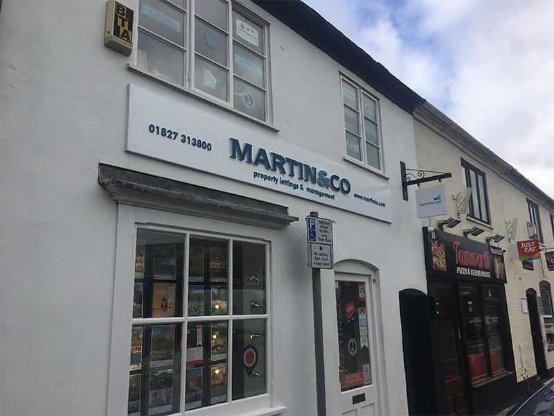 Facelift for the Martin & Co Tamworth Office