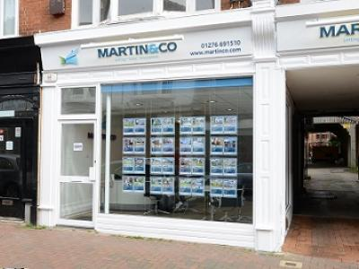 Martin & Co Camberley hires new apprentice