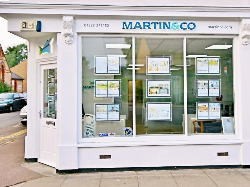 Cambridge Letting Agent Martin & Co Shortlisted for National Award