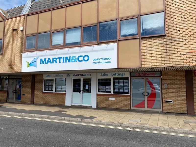 Martin & Co Crawley Launch Sales
